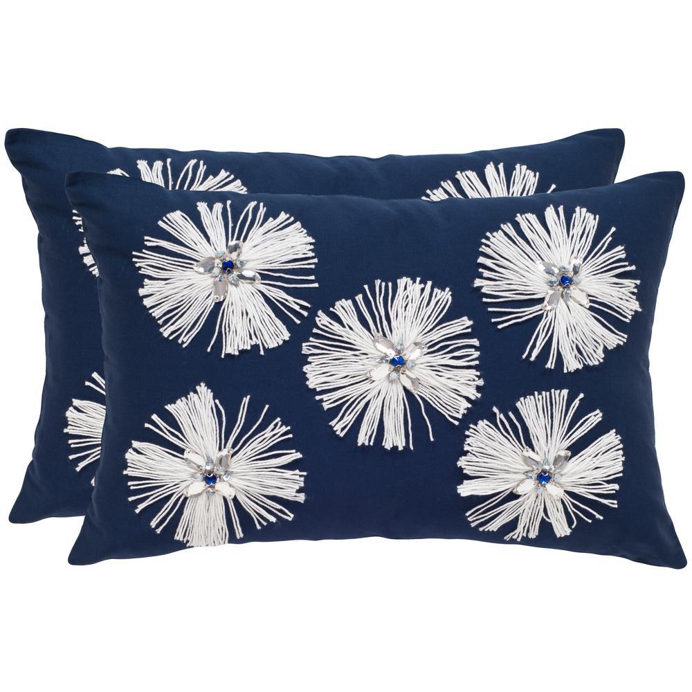 Bellissima Embellished Pillow (2-Pack)