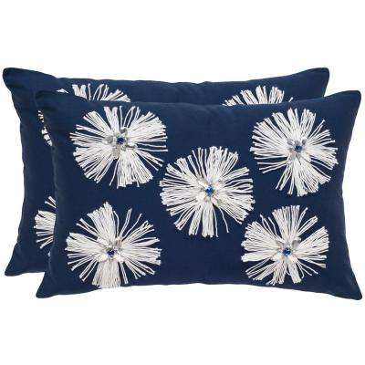 Bellissima Embellished Pillow (2-Pack)