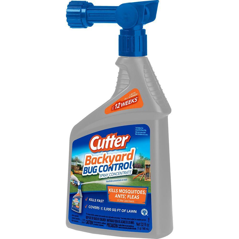 32 fl. oz. Concentrate Backyard Bug Control Spray