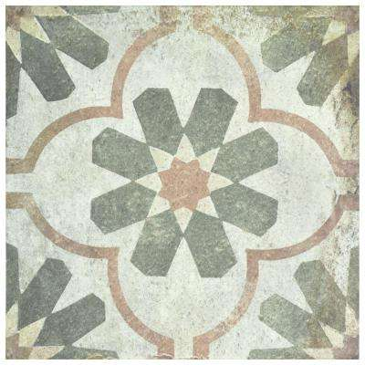 D'Anticatto Decor Florence 8-3/4 in. x 8-3/4 in. Porcelain Floor and Wall Tile (11.25 sq. ft. / case)
