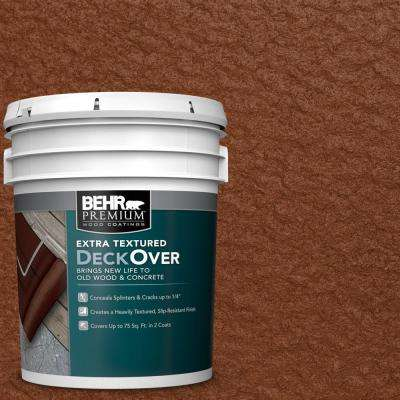 5 gal. #SC-116 Woodbridge Extra Textured Solid Color Exterior Wood and Concrete Coating