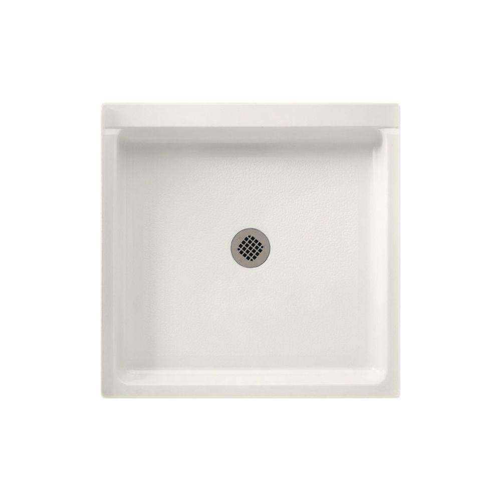 32 in. x 32 in. Solid Surface Single Threshold Shower Floor