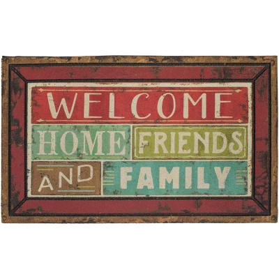 Family Shine Welcome 18 in. x 30 in. Doorscapes Mat