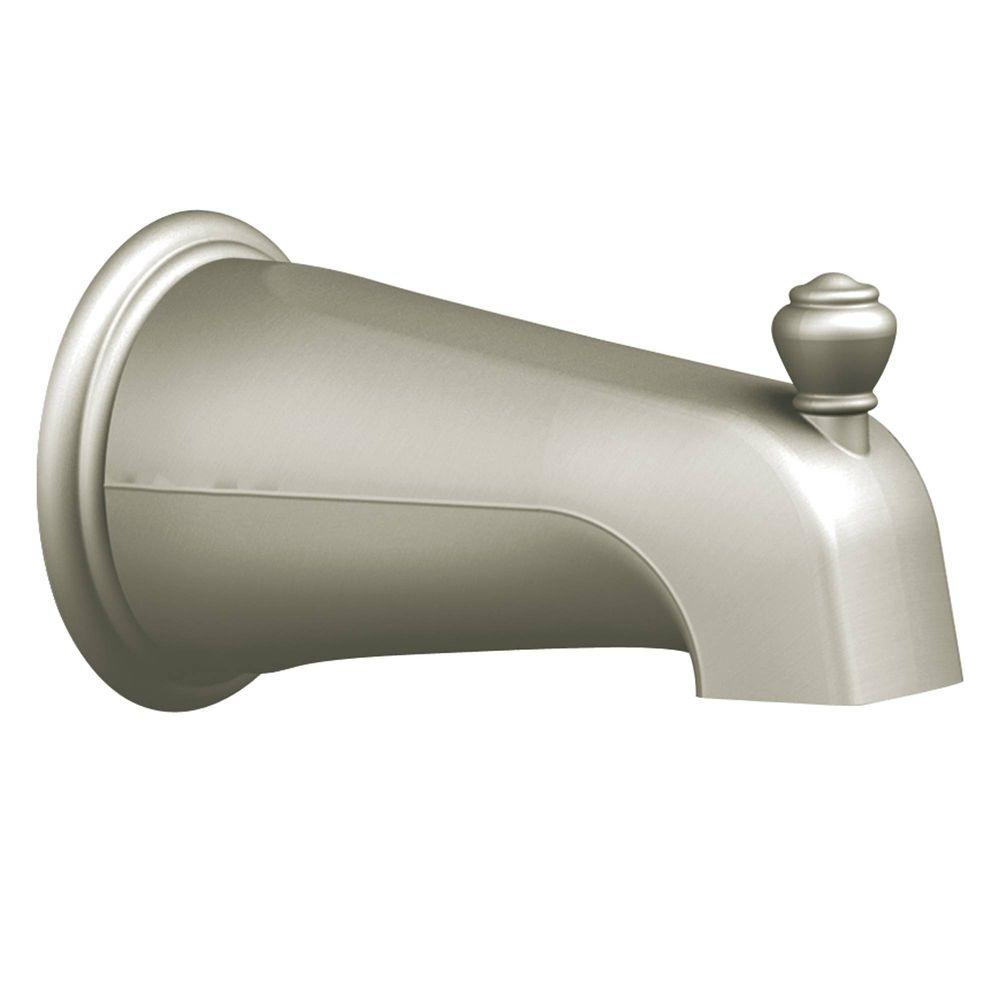 MOEN Monticello Diverter Tub Spout in Chrome-3807 - The Home Depot