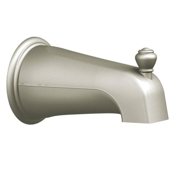 Diverter Spout in Brushed Nickel