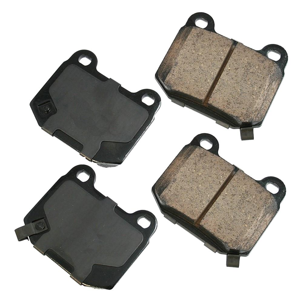 Akebono Performance Ultra Premium Ceramic Pads - Rear