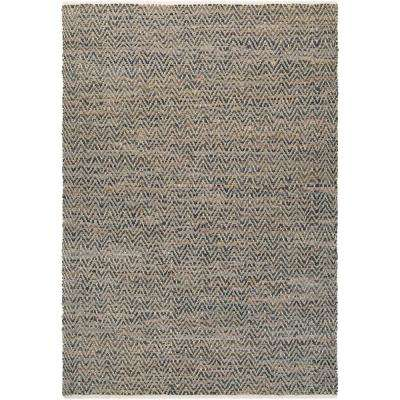 Nature's Elements Terrain Natural Brown-Stone 6 ft. x 9 ft. Area Rug