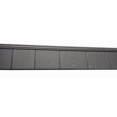 6-1/2 in. x 60-1/2 in. Cape Grey Engineered Rigid PVC Shingle Panel 5 in. Exposure (24 per Box)
