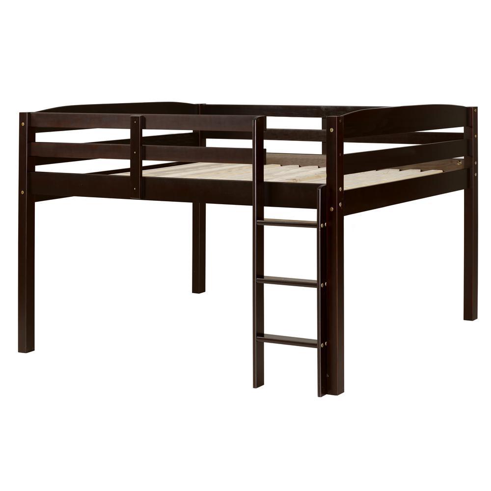 Camaflexi Concord Cappuccino Full Size Junior Loft Bed