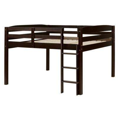 Concord Cappuccino Full Size Junior Loft Bed