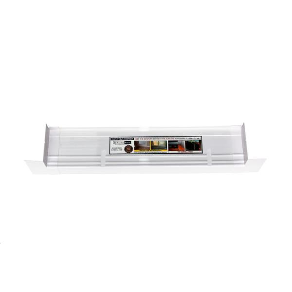 4-9/16 in. x 39 in. White PVC Sloped Sill Pan for Door and Window Installation and Flashing (Complete Pack)