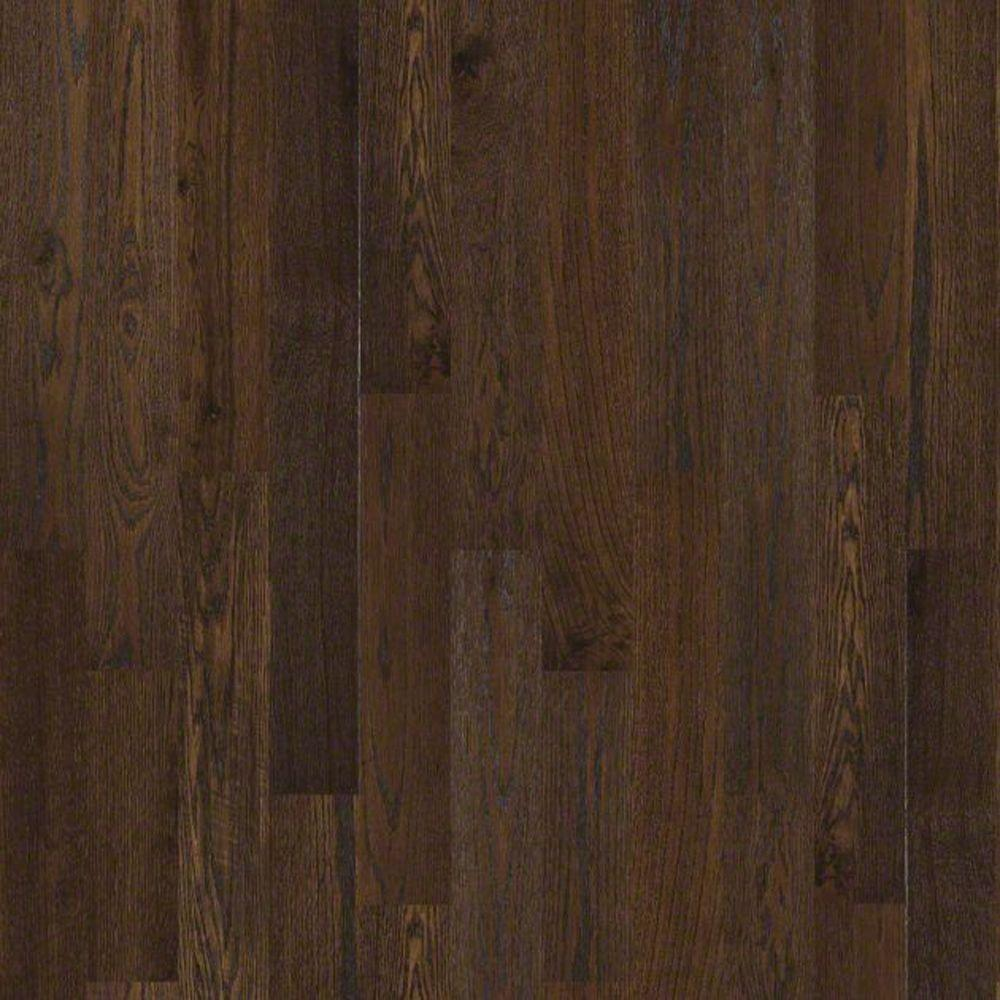Shaw chivalry oak noble steed 3 4 in thick x 5 in wide x for Real oak hardwood flooring