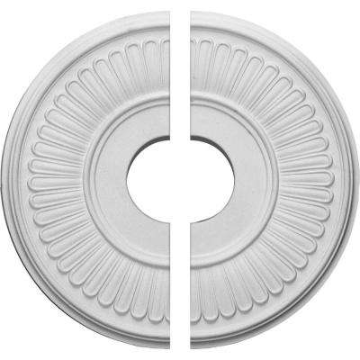 15-3/4 in. O.D. x 3-7/8 in. I.D. x 3/4 in. P Berkshire Ceiling Medallion (2-Piece)