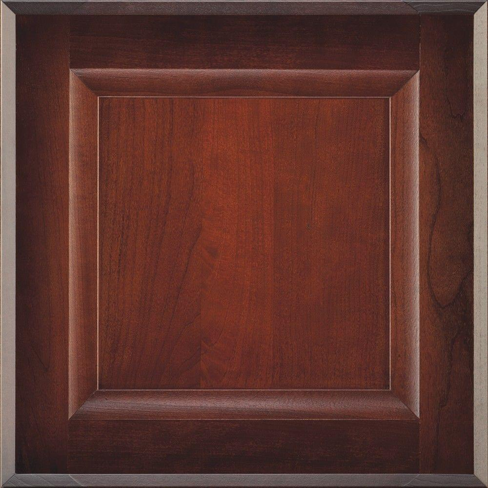 14.5x14.5 in. Cabinet Door Sample in Huchenson Rousseau Luminaire