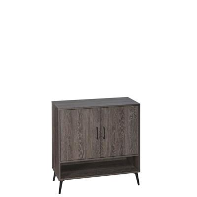 Woodbury Weathered Wood Shoe Cabinet