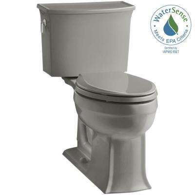 Archer Comfort Height 2-piece 1.28 GPF Elongated Toilet with AquaPiston Flushing Technology in Cashmere