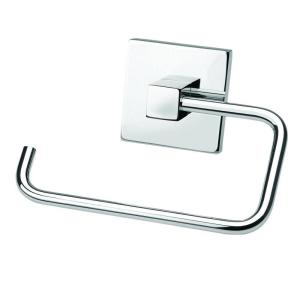 Croydex Brompton Single Post Toilet Paper Holder in Chrome by Croydex
