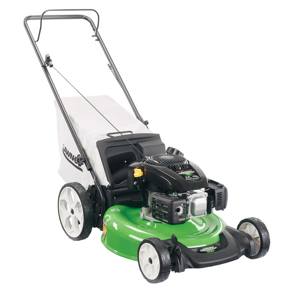 Lawn-Boy 21 in. High Wheel Gas Walk Behind Push Mower with Kohler Engine