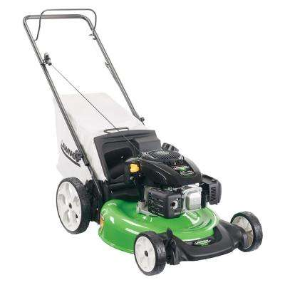 21 in. High Wheel Gas Walk Behind Push Mower with Kohler Engine