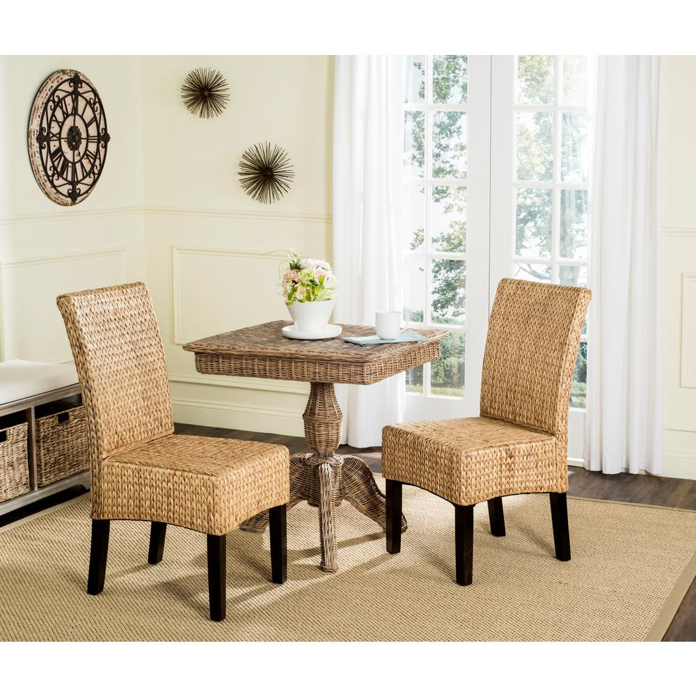 H Wicker Dining Chair (Set Of 2)