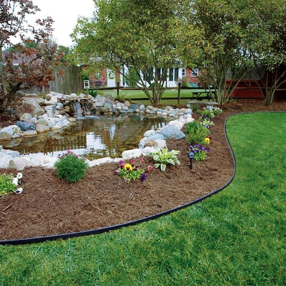 Vigoro 60 Ft No Dig Landscape Edging Kit 3001 60hd The Home Depot