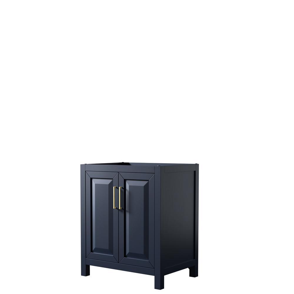 Daria 29 in. Single Bathroom Vanity Cabinet Only in Dark Blue