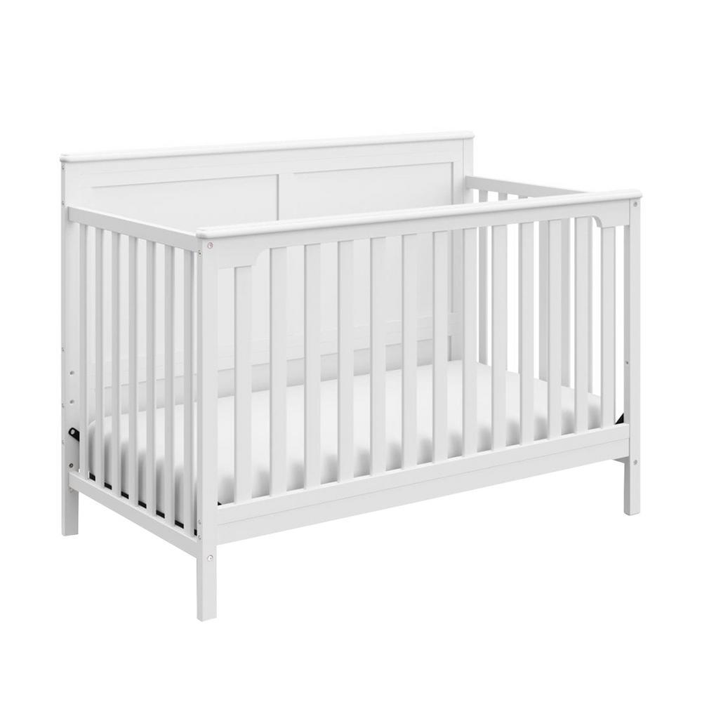 Alpine White 4In1 Convertible Crib