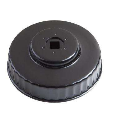 93 mm x 36 Flute Oil Filter Cap Wrench in Black