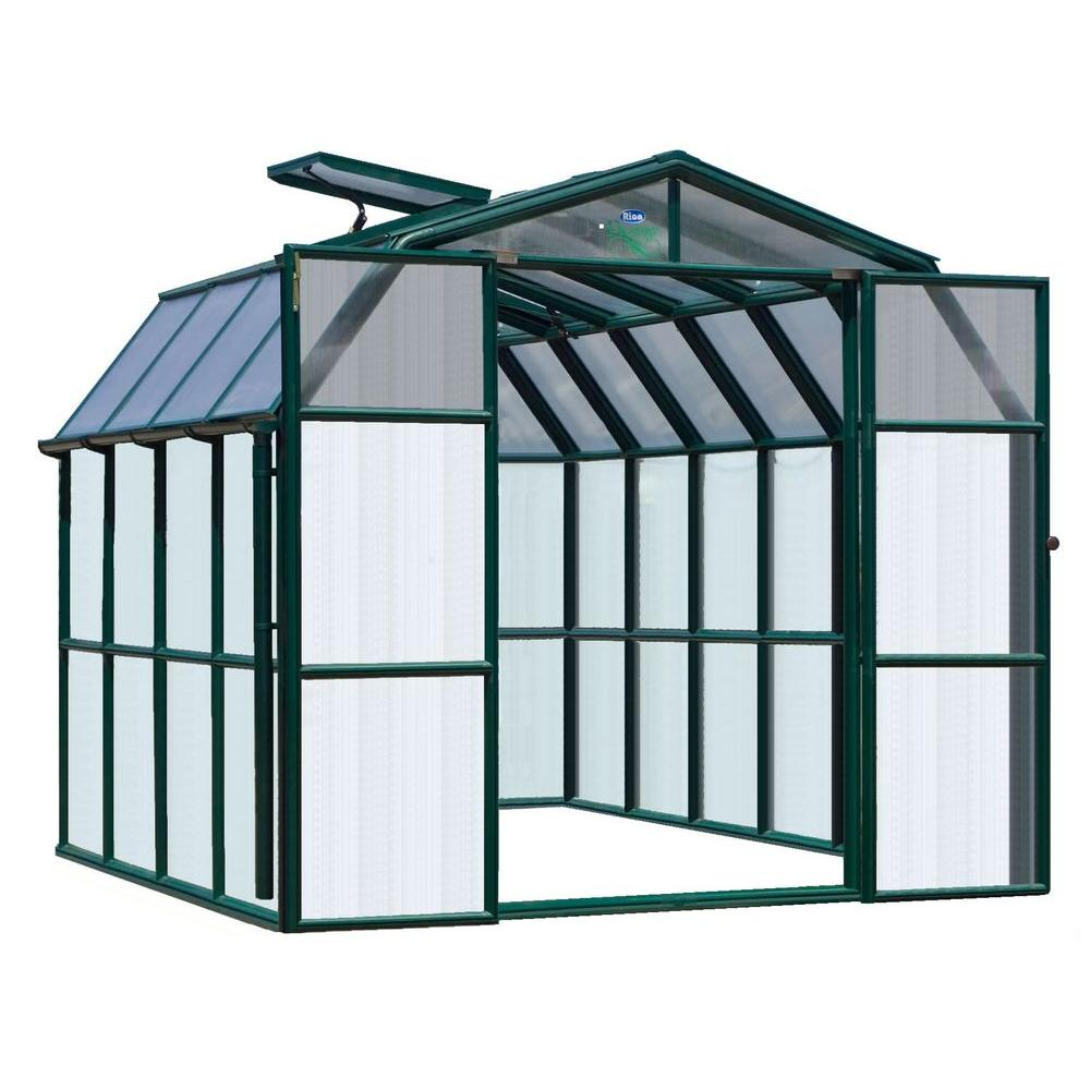 Rion Prestige Clear 8 ft. 6 in. x 8 ft. 6 in. Greenhouse