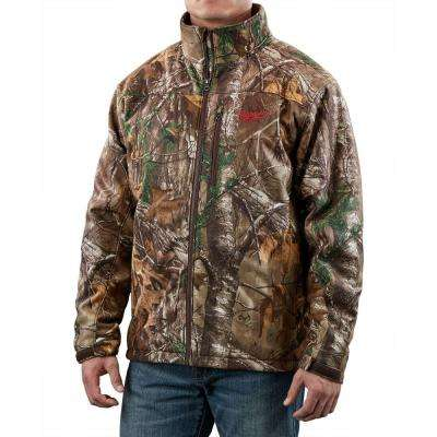 X-Large M12 12-Volt Lithium-Ion Cordless Realtree Xtra Camo Heated Jacket (Jacket Only)