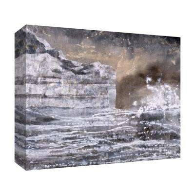 10 in. x 12 in. ''Sea and Ice'' Canvas Wall Art