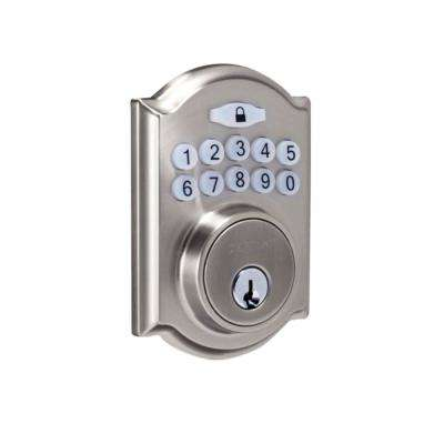 Castle Satin Nickel Electronic Keypad Deadbolt