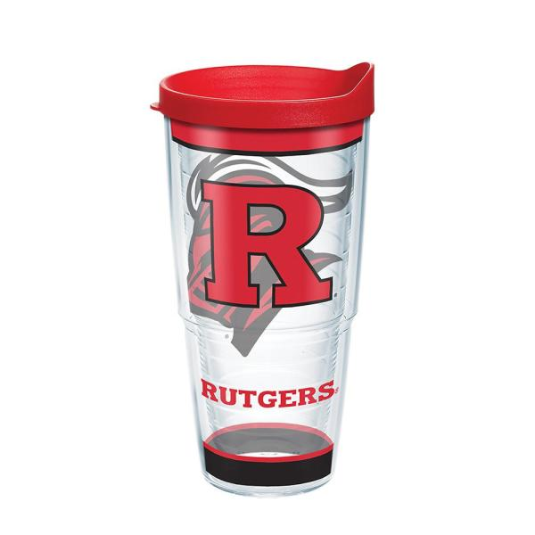Tervis Rutgers University Tradition 24 Oz Double Walled Insulated Tumbler With Lid 1343740 The Home Depot