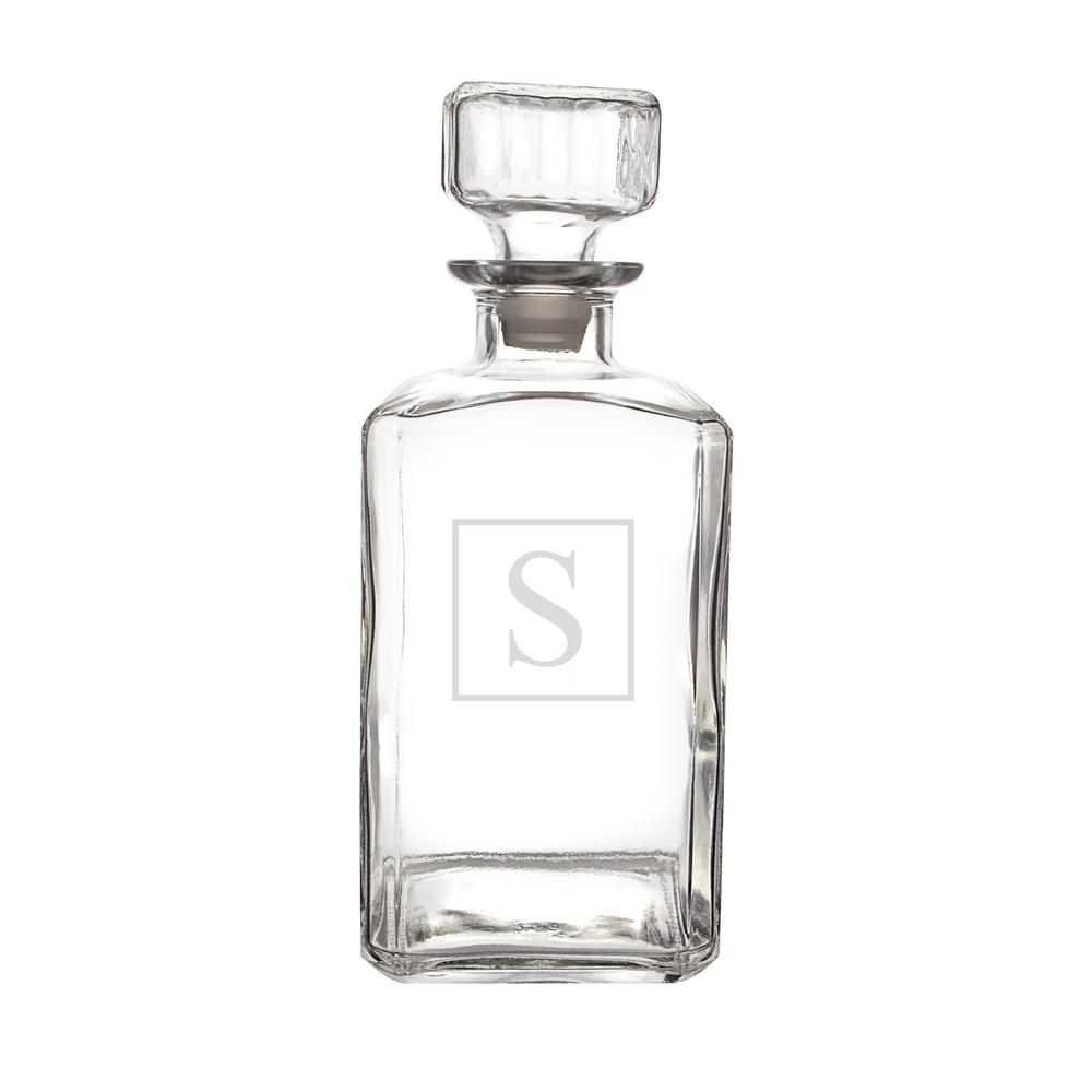Personalized Glass Decanter - S