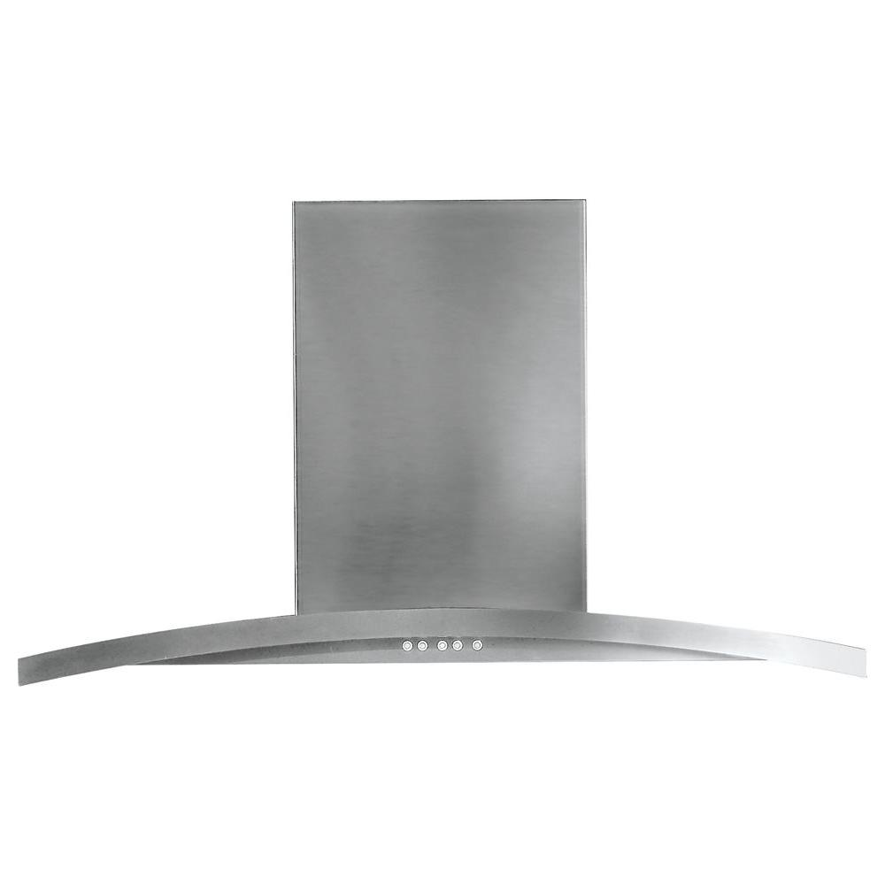 30 in. Designer Range Hood in Stainless Steel
