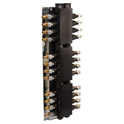24-Port PEX Manifold with 1/2 in. Brass Ball Valves