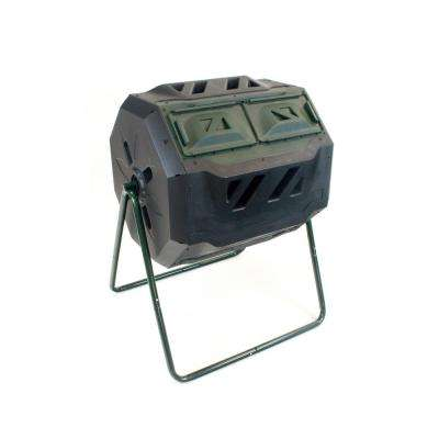 Exaco 43 Gal. Mr. Spin Dual Chamber Compost Tumbler