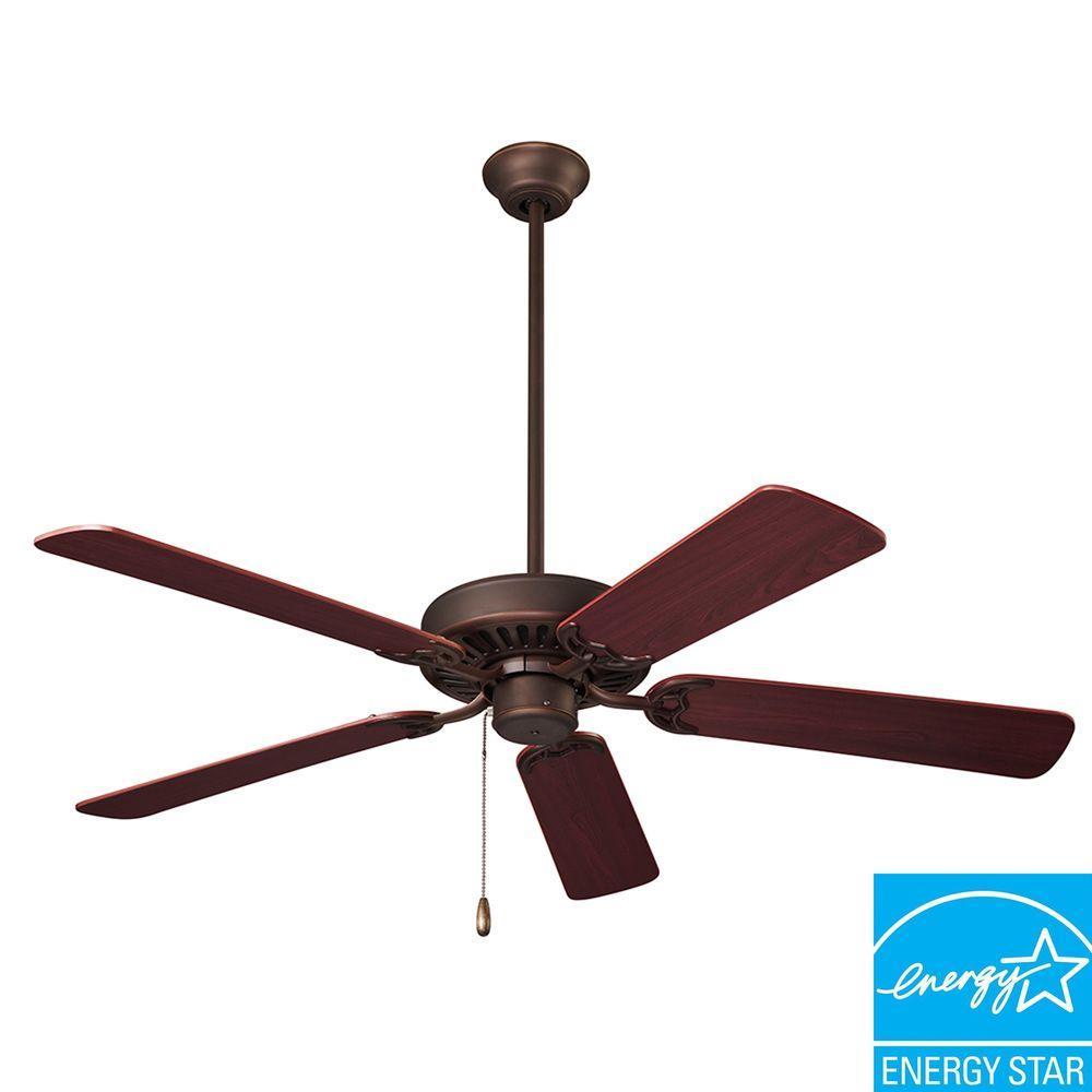 NuTone Standard Series 52 in. Oil Rubbed Bronze Ceiling Fan