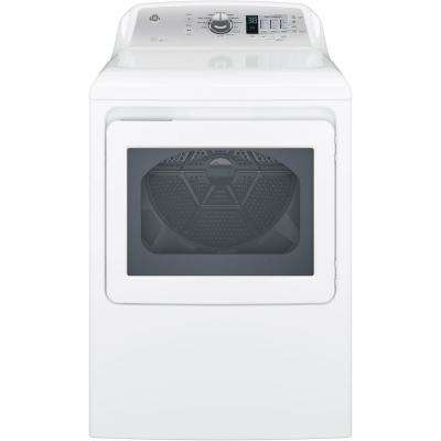 7.4 cu. ft. 120-Volt White Gas Vented Dryer, ENERGY STAR
