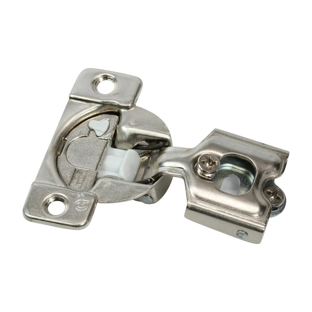 Rok 1/2 in  (35 mm) Overlay 108-Degree Soft Close Face Frame Cabinet Hinge  (25-Pack)