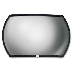 SEE ALL Round Rectangular Glass Convex Mirror by SEE ALL