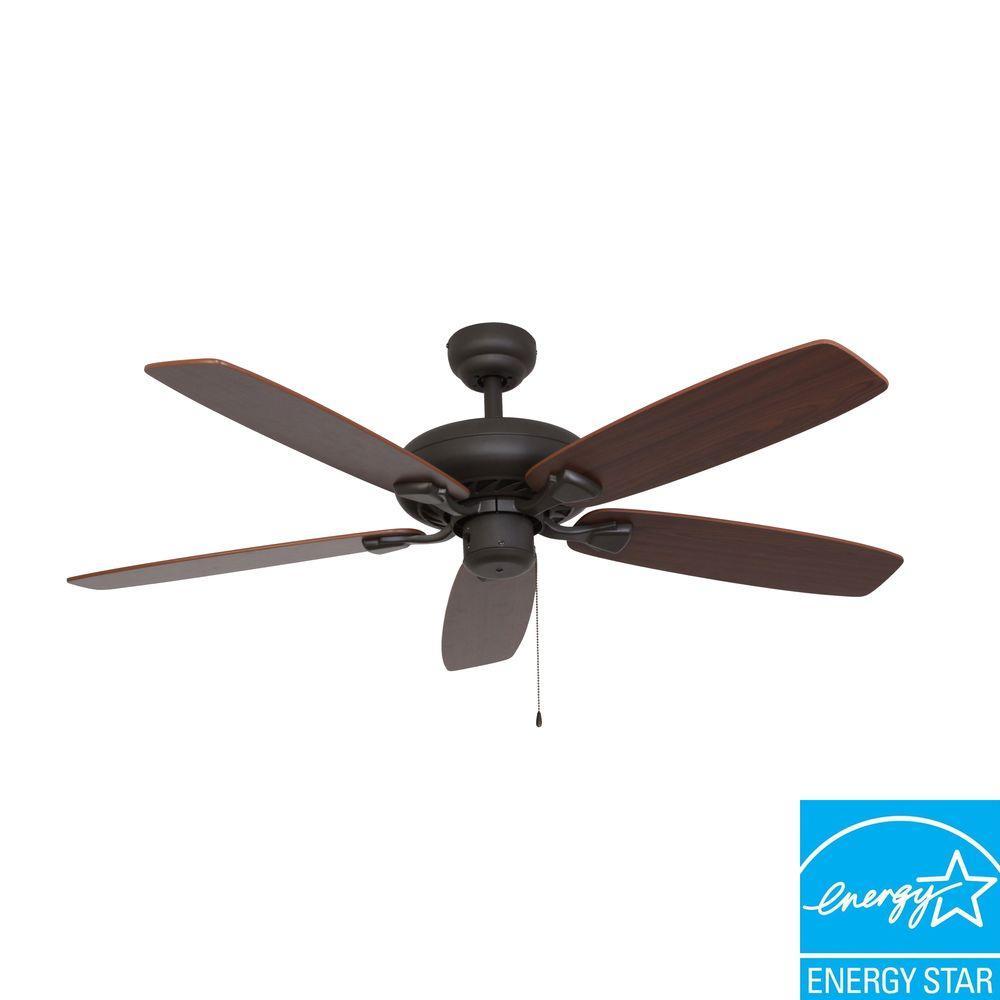 Charleston 52 in. Bronze Energy Star Ceiling Fan