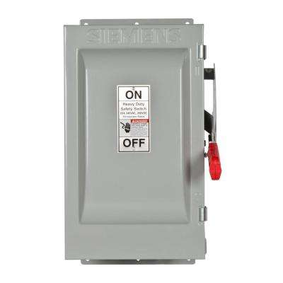 Heavy Duty 60 Amp 240-Volt 3-Pole Type 12 Fusible Safety Switch