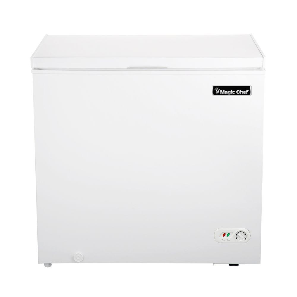 magic chef 6 9 cu ft chest freezer in white hmcf7w2 the home depot rh homedepot com Kenmore Gas Range Kenmore Washing Machine Manuals