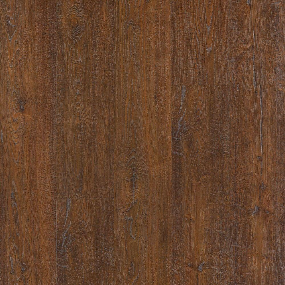 Outlast+ Auburn Scraped Oak Laminate Flooring - 5 in. x 7
