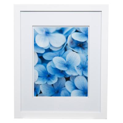 Gallery 11 in. x 14 in. White Double Mat Picture Frame