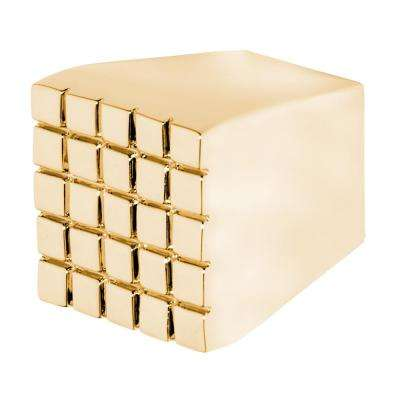 Trousdale 13/16 in. Polished Gold Cabinet Knob