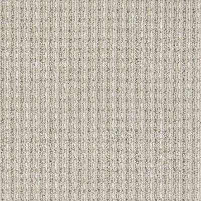 Carpet Sample - Upland Heights - Color Pebblestone Pattern Loop 8 in. x 8 in.