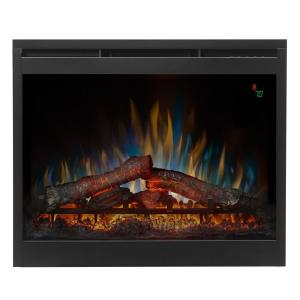 dimplex 26 in electric firebox fireplace insert dfr2651l the home depot