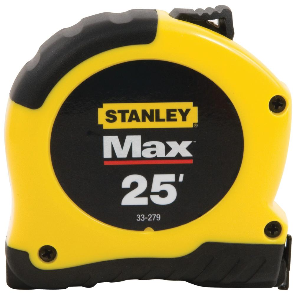 Stanley Max 25 ft. x 1-1/8 in. Tape Measure